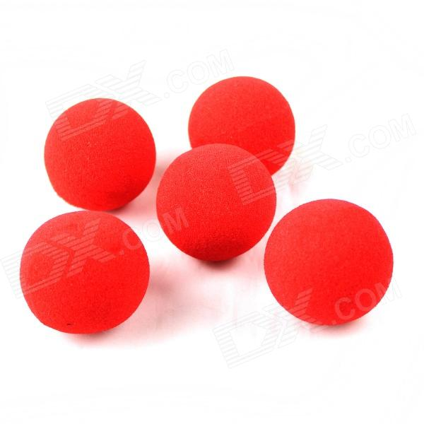 Magic Sponge Balls - Red (5PCS)
