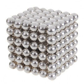 4.7~5mm Neodymium NIB Magnet Spheres with Steel Case - Silver (216PCS)