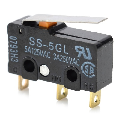 SS-5GL DIY ENDSTOP RAMPS 1.4 Limit Switch for 3D Printer - Black