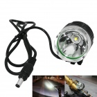 Marsing 3-Mode LED Cold White Bike Light/Headlamp - Black (4*18650)