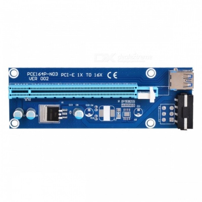 PCI-E USB 3.0 1X to 16X Extension Cable