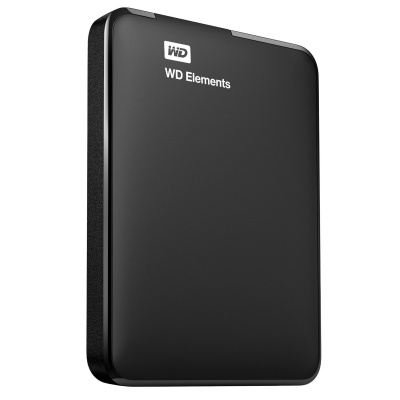 WD Elements 500GB USB 3.0 Hard Drive Storage WDBUZG5000ABK