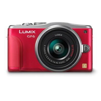 Panasonic Lumix GF6 14-42-Red