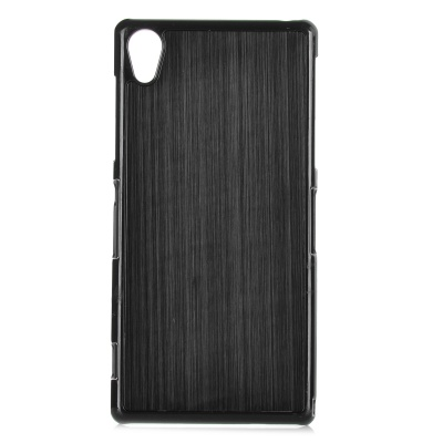 YI-YI Protective Aluminum Alloy Back Case for Sony Xperia Z2/L50w - Black