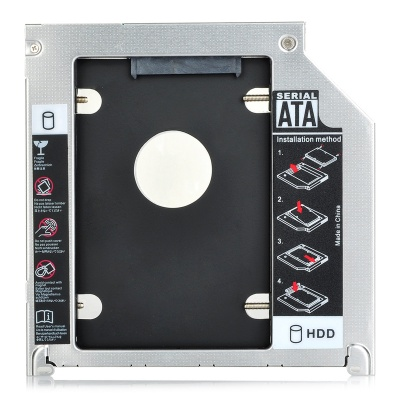 SATA3 Serial HDD Caddy / CD Driver Holder for Apple MacBook Pro + More