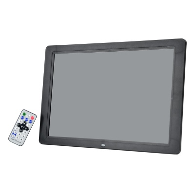 "XC-1504 15"" FSTN Display Digital Photo Frame Rhamen - Black (32GB Max.)"
