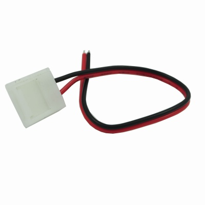 DIY 5050 LED Connector w/ 10mm Wire - White + Red + Multi-colored (5pcs)