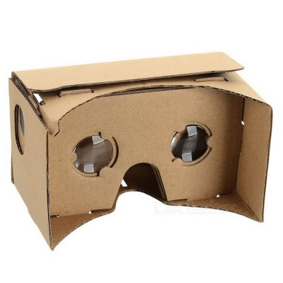 Assembling Virtual Reality Cardboard w/ Resin Lens Set - Khaki