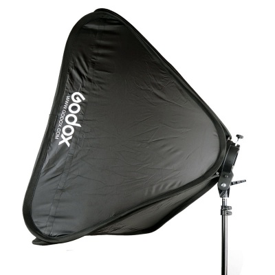Godox Speedlite Mount Holder + Softbox for Studio Photography - Black