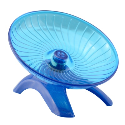 NV0113 Ultra-Quiet Ultra-Stable Anti-bite Running Wheel Ran Disk for Pet Hamster - Blue