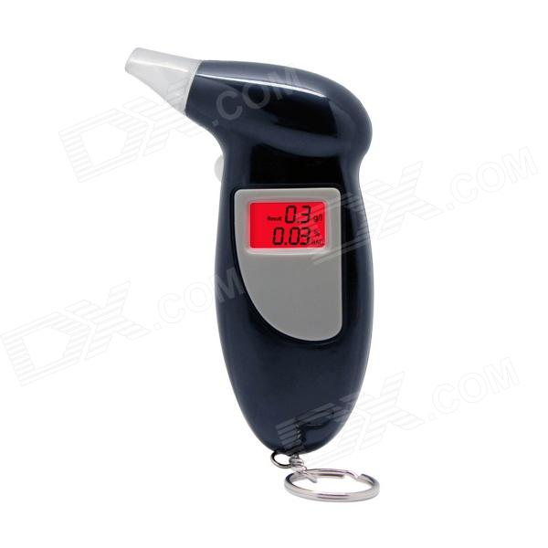 "CATCAM Portable 2"" Digital Breath Alcohol Tester / Detector - Black"