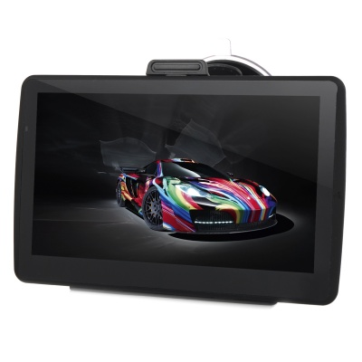 "7"" Capacitive Screen Win CE 6.0 Car GPS Navigator w/ Multinational Map - Black"