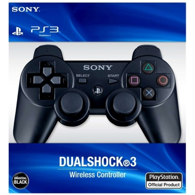 Genuine Sony PlayStation 3 Dualshock 3 Wireless Controller - Black