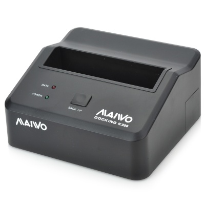 """MAIWO USB 3.0 HDD Docking Station for All 2.5""""/3.5"""" SATA HDD (Super-Speed 5Gbps)"""