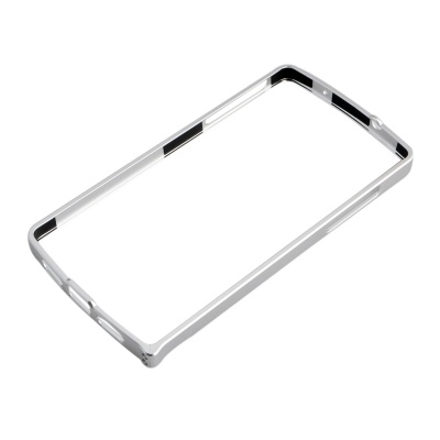 0.7mm Ultrathin Protective Aluminum Bumper Frame for LG Nexus 5 - Silver