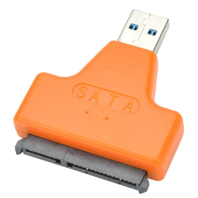 """USB 3.0 Male to SATA Female Adapter +Female Cable for 2.5"""" Hard Disk"""