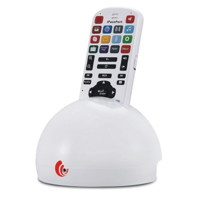 Mini 2-in-1 Voice TV Remote Controller + Wireless Dual-Core Android 4.1 Player Set - White