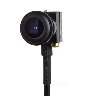 """1/3"""" CMOS 5.0MP Mini Home Security Monitoring Wide Angle Camera - Black"""
