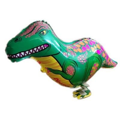 Dinosaur Animal Style Walking Aluminium Balloon