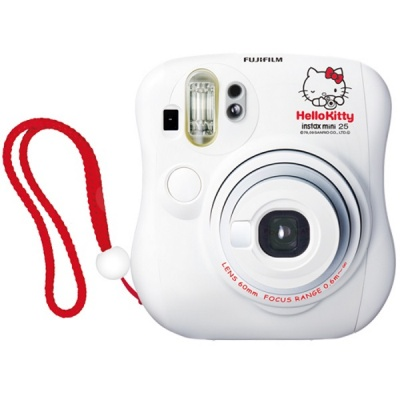 Fujifilm Instax MINI 25 Instant Film Camera (Hello Kitty)-Limited Qty
