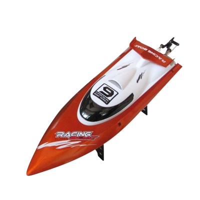 Feilun FT009 2.4GHz 4-CH Water Cooling High Speed Racing RC Boat - Orange