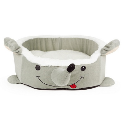 YDL-WJ3001-M-M Fashionable Mouse Style Nest Bed for Pet Cat / Dog - Grey + Multi-Colored (Size M)