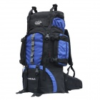 A1253 60L Water Resistant Outdoor Sports Travel Mountaineering Oxford Backpack - Blue