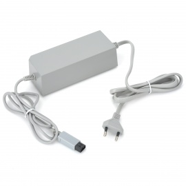 AC Power Adapter Charger for Wii Console - Grey (EU Plug / AC100~240V)