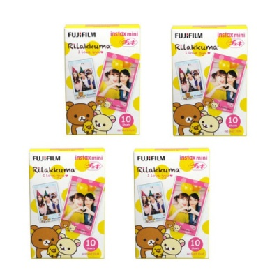 Fujifilm Instant Rilakkuma Honey Version Film 10 Sheets * 4 Box