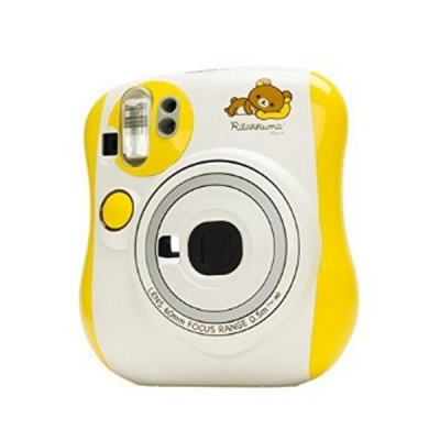 Fujifilm Instax MINI 25 Instant Film Camera (Rilakkuma)-Yellow + White
