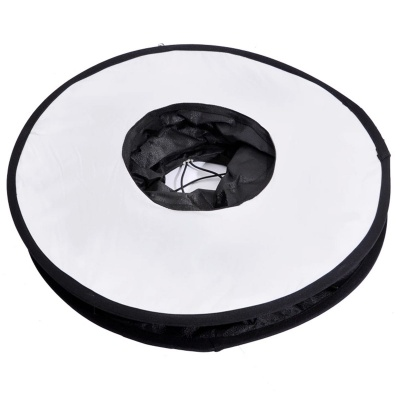 Speedlite Softbox Diffuser Reflector for Macro Shooting - White +Black