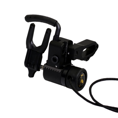 Archery Hunting Right Handed Compound Bow Drop Away / Fall Away Arrow Rest - Black