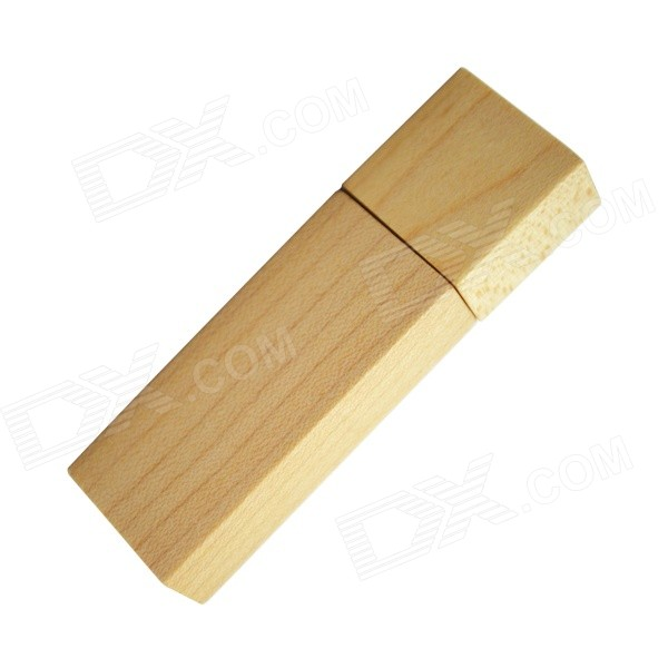 H&G.01 Wooden Shell USB Flash Drive - Maple (8GB)