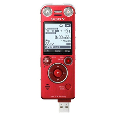 Sony ICD-SX1000/R 16GB Recorder -Red