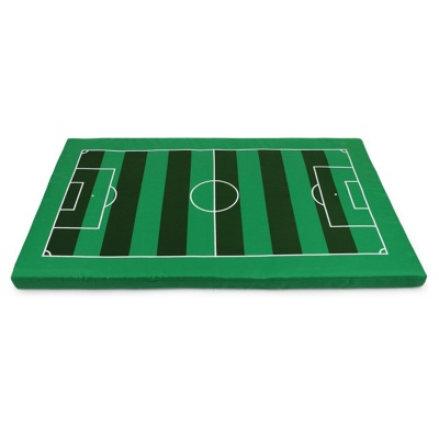 YDL-D4005-L Fashionable Soccer Field Style Large-Scale Mat Pad For Pet Cat / Dog - Green (L)