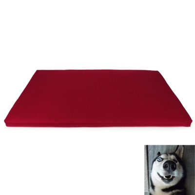 YDL-D4003-L Fashionable Ultra Large-Scale Mat Pad for Pet Cat / Dog - Red + White (Size L)