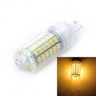 Marsing G9 12W 3500K 69*SMD LED Warm White Light Bulb (AC 220~240V)