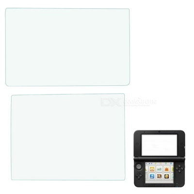 PET Upper + Lower Screen Protectors Set for New 3DS - Transparent