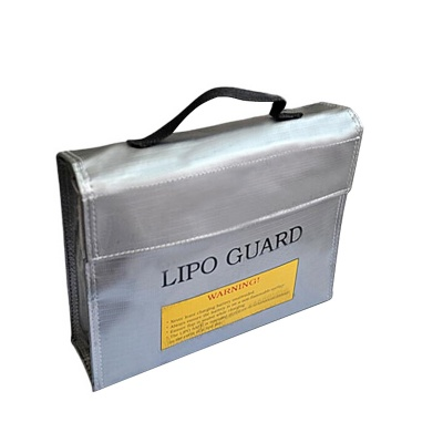 Multi-Function Lithium Battery Anti-Explosion Bag for R/C Model - Silver