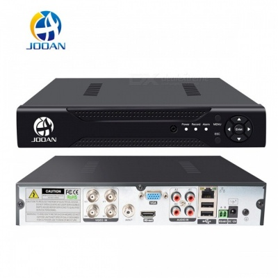 JOOAN 4CH 1080N CCTV DVR Compatible AHD TVI CVI IPC CVBS Video recorder