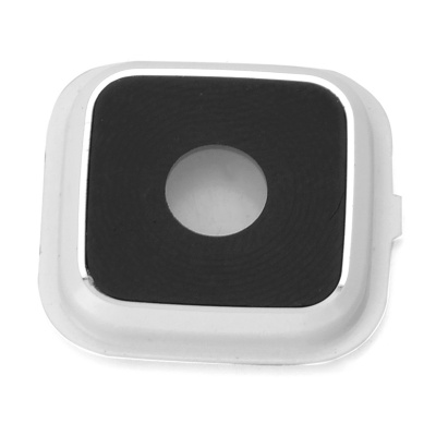 Replacement Camera Ring + Lens Set for Samsung Note 4 - White