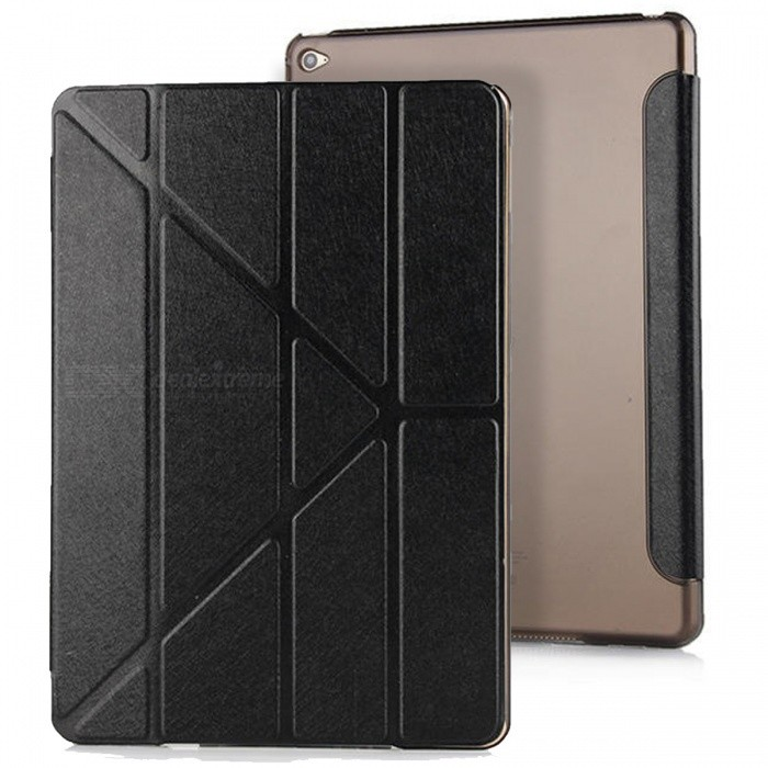 Mr.northjoe Protective PU Leather Case Stand w/ Auto Sleep -Black