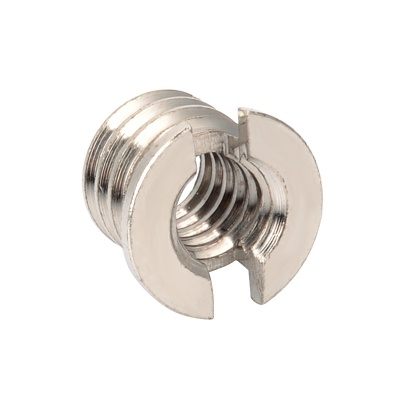 "Photography Accessories 1/4"" to 3/8"" Screw Adapter - Silver"