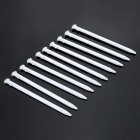 Professional Plastic Styluses for NEW 3DS - White (10PCS)