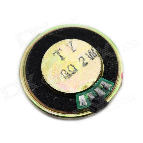 Jtron 8ohm 2W 28mm Plastic + Iron Speaker Module - Black