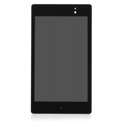 Replacement Tempered Glass LCD Touch Screen for Nexus 7 II - Black