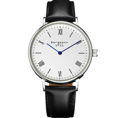 Bergmann 1931 Classic Women's Watch-Black + White