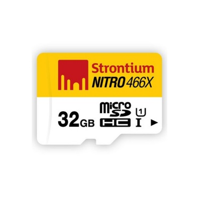 Strontium Nitro 32GB Micro SDHC UHS-I Class10 up to 70MB/s SRN32GTFU1R