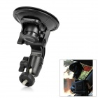 Universal Car Swivel Mount Holder for Camera - Black