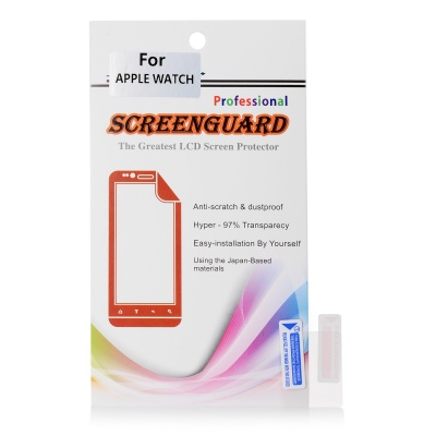 Matte PET Screen Protectors for APPLE IWATCH - Transparent (5 PCS)